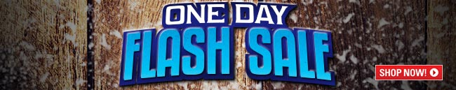 One Day Flash Sale!