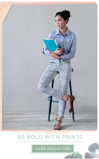 Be Bold With Prints