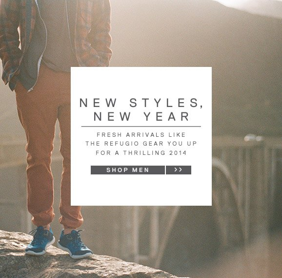 NEW STYLES, NEW YEAR