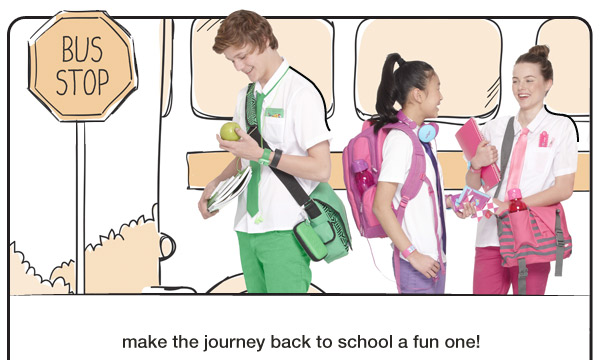 make the journey back to school a fun one!