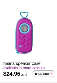 hearts speaker case $24.95aud - shop now >
