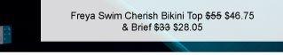 Freya Swim Cherish Underwired Banded Halter Bikini Top was $55 now $46.75 & Brief was $33 now $28.05
