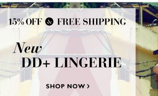 15% off and Free Delivery on New DD+