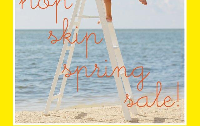 hop skip spring sale!