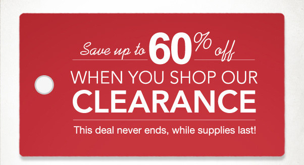 WOW - Save Up To 60% Off TODAY!