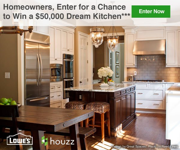 Homeowners, Enter for a Chance to Win a $50,000 Dream Kitchen*** Enter Now