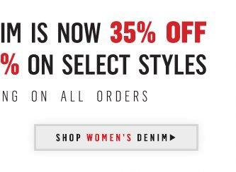 Shop Womens Denim.