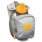 Nathan 4836NG QuickShot Plus Hydration Handheld Bottle Carrier Pack, Grey