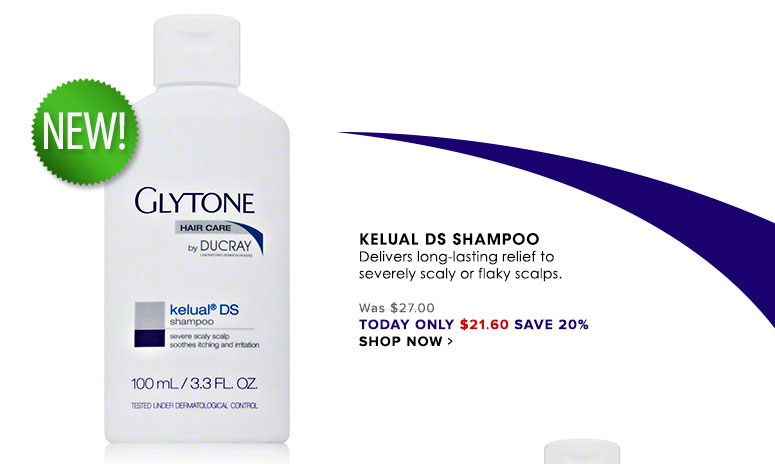 Kelual DS Shampoo Delivers long-lasting relief to severely scaly or flaky scalps. Was $27.00 Now $21.60 Shop Now>>