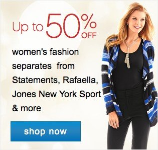 Womens 30-50% off better sportswear. Shop now.