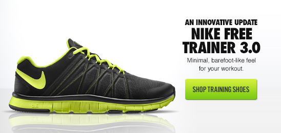 AN INNOVATIVE UPDATE | NIKE FREE TRAINER 3.0 | SHOP TRAINING SHOES