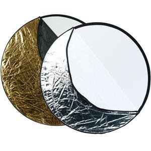Adorama - Westcott Photo Basics 40 5-in-1 Collapsible Reflector, 2 Pack