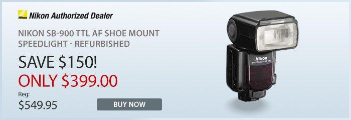 Adorama - Nikon SB-90 TTL AF Shoe Mount Speedlight - Refurbished