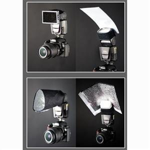 Adorama - Interfit Photographic Strobies Flash Gun Bounce Set for Shoe Mount Flashes