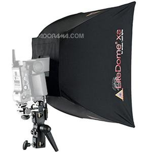 Adorama - Photoflex LiteDome XS Kit, with X-Small, Softbox with Basic Connector , Adjustable Shoe Mount Hardware and Multiclamp