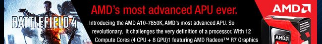 AMD's most advanced APU ever. see more details