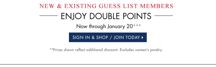 SIGN IN & SHOP/JOIN TODAY