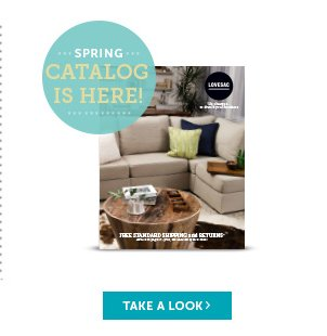 Spring Catalog Is Here! Take a Look!