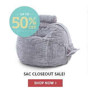 Up to 50% Off Sacs!