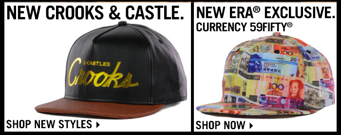 Check Out The Latest Styles From Crooks & Castle and New Era Exclusives.