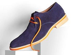 Winter Blues: Shoes