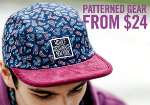 Shop Patterned Gear from $24