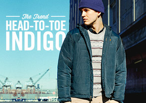 Shop The Trend: Head-to-Toe Indigo