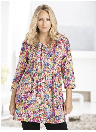 Shop the Sweet Bouquets Knit Tunic today