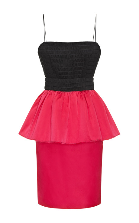 Peplum Cocktail Sheath Dress