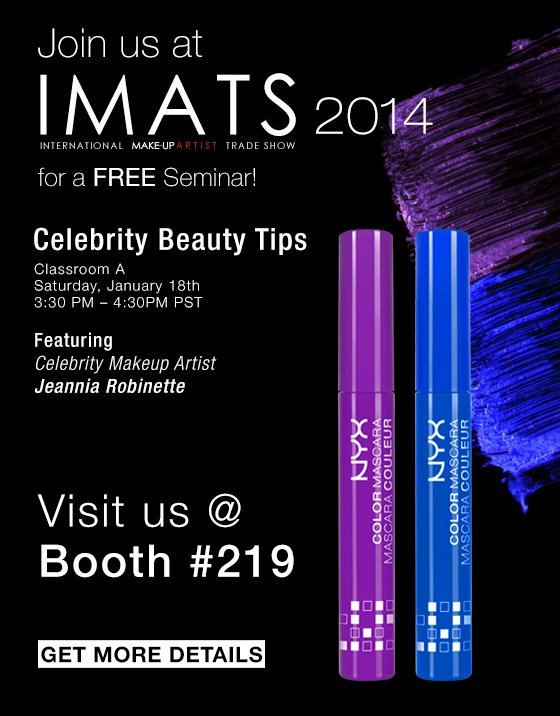 Join us at IMATS 2014