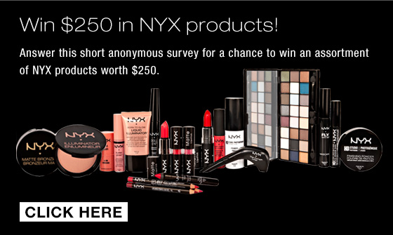 Win $250 in NYX products!
