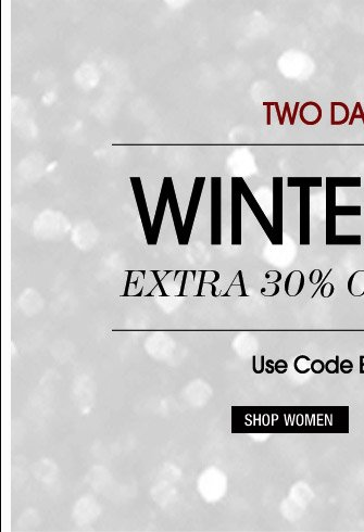 Winter Sale - Shop Women