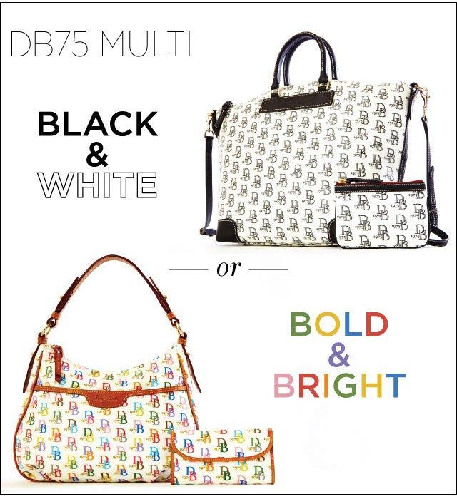 DB75 Multi - Black & White or Bold & Bright