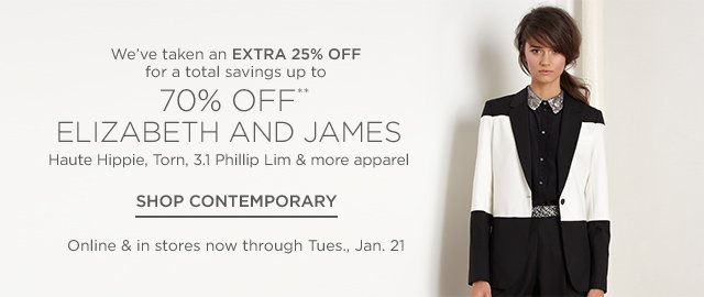 Up to 70% Off Elizabeth and James, more