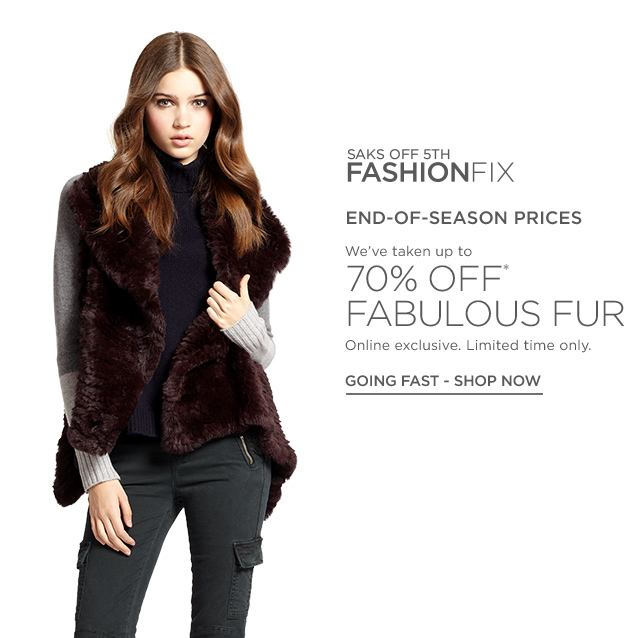Up to 70% Off Fabulous Fur