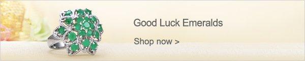 Good Luck Emeralds