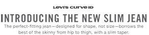 Levi's Curve ID- Introducing the new slim jean