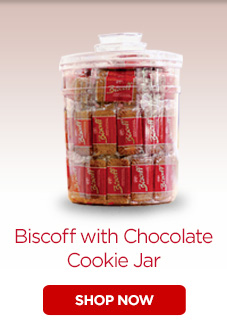 Biscoff with Chocolate Cookie Jar