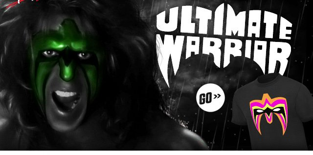 "Ultimate Warrior ""Parts Unknown"" T-shirt"