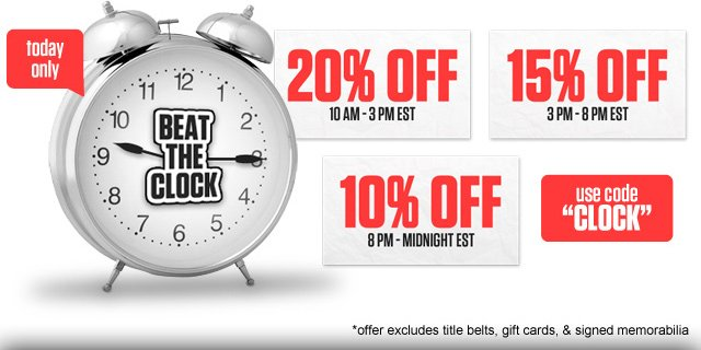 Don't Miss Out - Get up to 20% off right now!