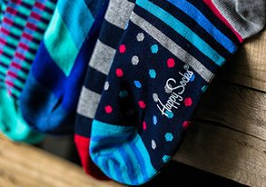 Shop Treat Your Feet: Happy Socks & More