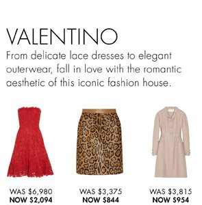 VALENTINO. SHOP NOW
