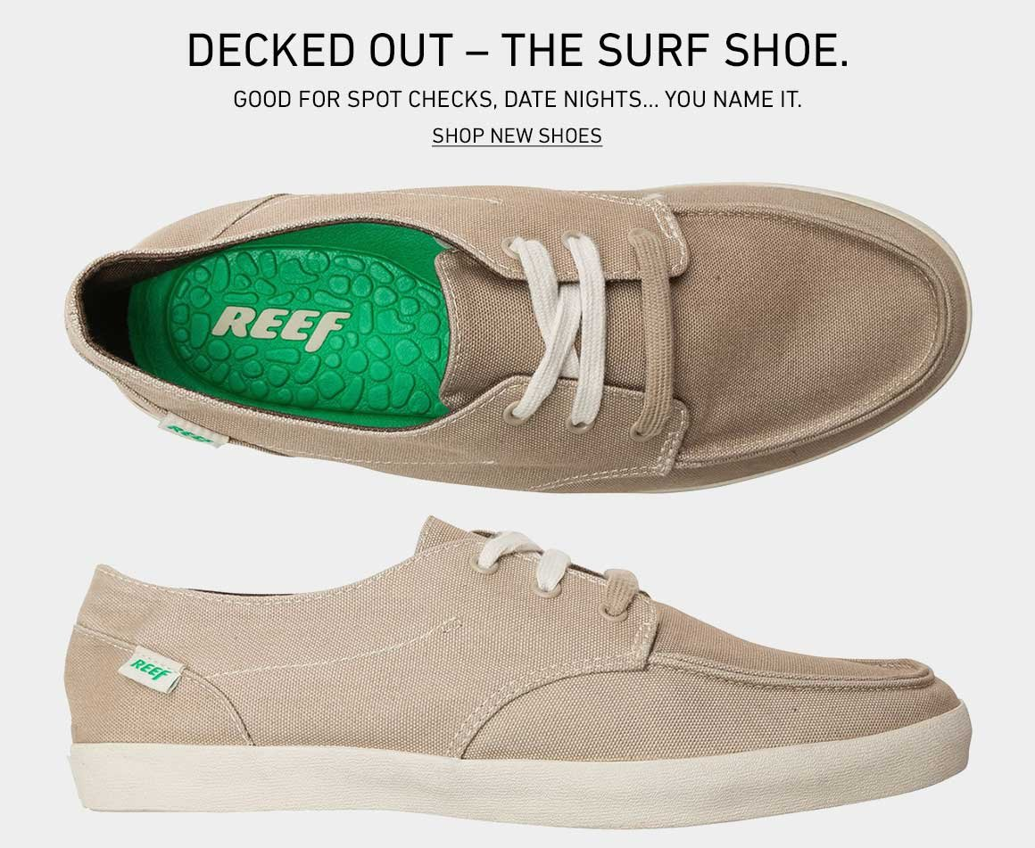 Decked Out: Shop New Surf Shoes