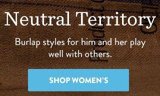Shop Women's Burlap