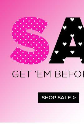 Sale! Shop Sale