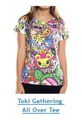 Toki Gathering All Over Tee