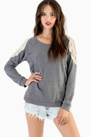 Laced With Grace Sweater 30