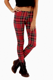 Classic Tina Tartan Leggings 23