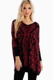 Emmy Aztec Oversized Sweater 47