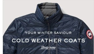 Your Winter Saviour: Cold Weather Coats